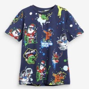 Christmas theme tshirt